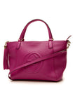 Gucci Soho Top Handle Tote Bag - Magenta