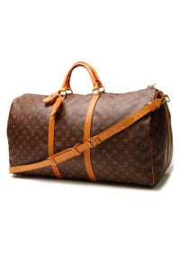 Louis Vuitton Vintage Keepall Bandouliere 60 Travel Bag - Monogram