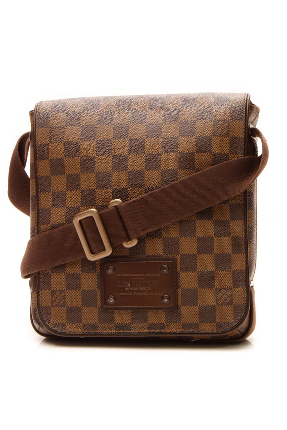 Louis Vuitton Brooklyn PM Bag - Damier Ebene