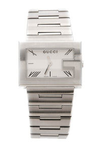 Gucci G Rectangle Watch - Steel