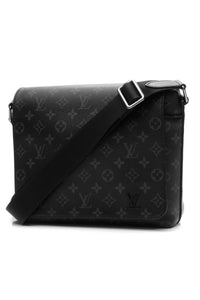 Louis Vuitton District PM Messenger Bag Monogram Eclipse