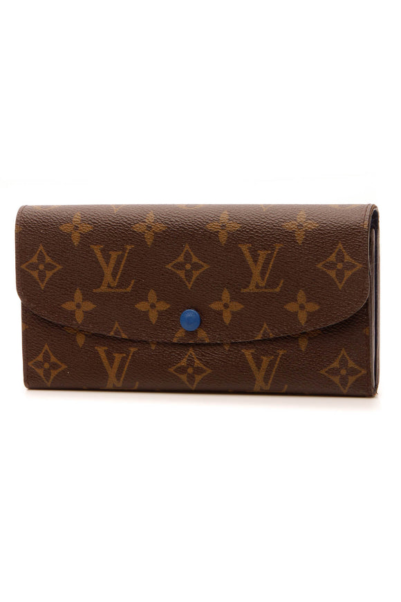 Louie Vuitton Emilie Wallet - Monogram/Blue