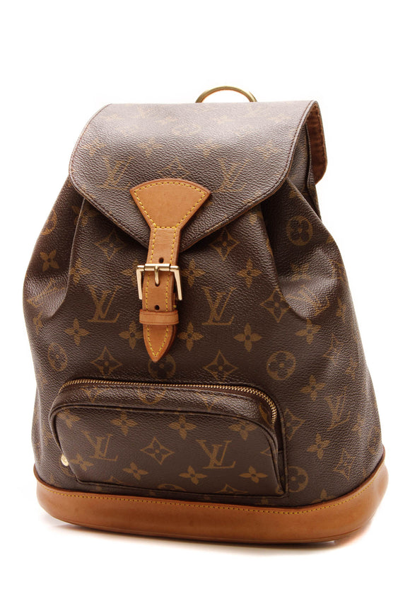 Louis Vuitton Montsouris MM Backpack Monogram