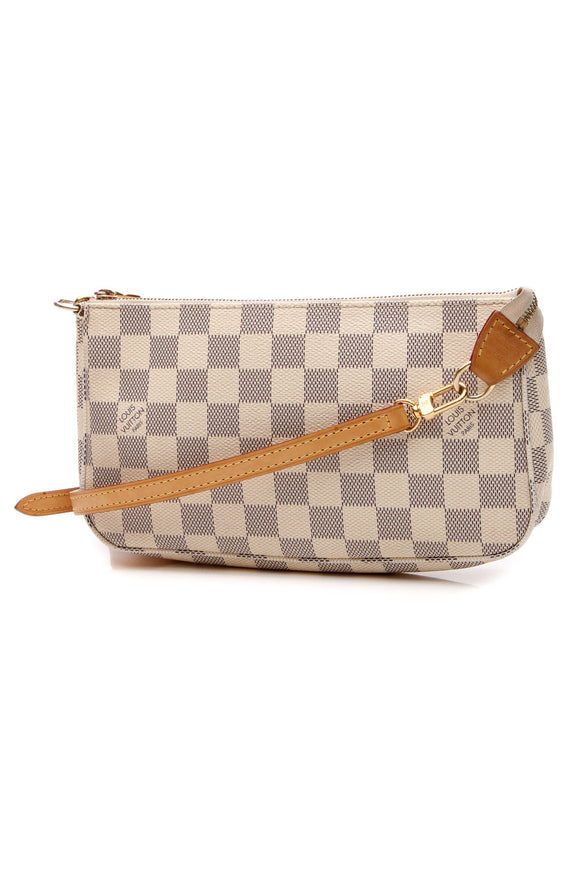 Louis Vuitton Pochette Accessories Bag - Damier Azur