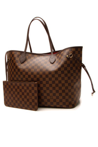 Louis Vuitton Louis Vuitton Neverfull GM Tote Bag - Damier Ebene