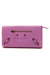 Balenciaga Classic Money Wallet - Lilac