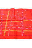 Hermes Bolduc Carre Silk Scarf - Red