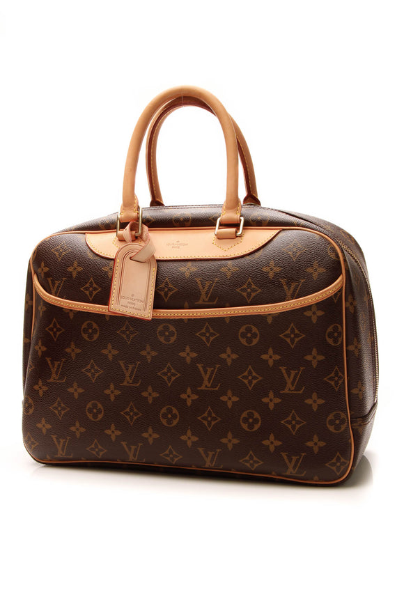 Louis Vuitton Deauville MM Bag - Monogram