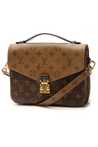 Louis Vuitton Pochette Metis Bag - Reverse Monogram
