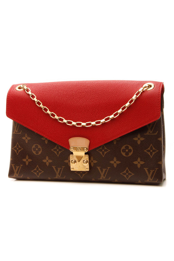 Louis Vuitton Pallas Chain Bag - Monogram/Cerise