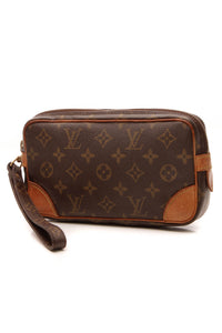 Louis Vuitton Vintage Marly Dragonne PM Clutch Bag - Monogram