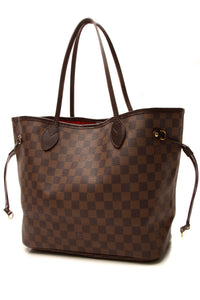 Louis Vuitton Neverfull MM Tote Bag - Damier Ebene