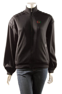 Gucci Elbow Pad Technical Jacket - Black Size XXS