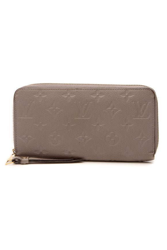 Louis Vuitton Empreinte Zippy Wallet - Taupe Glace