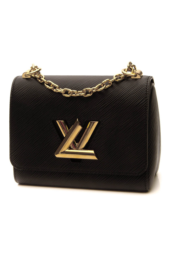 Louis Vuitton Epi Twist PM Bag - Black