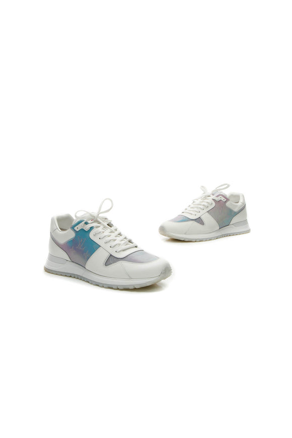 Louis Vuitton Holographic Run Away Men's Sneakers - White US Size 8.5