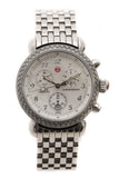 Michele Diamond 36mm CSX Watch - Steel