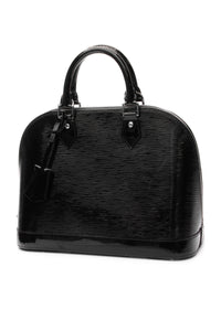 Louis Vuitton Electric Epi Alma PM Bag - Black