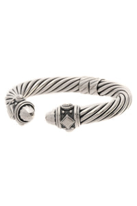 David Yurman 10mm Renaissance Bracelet - Silver