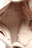 Tory Burch Fleming Flap Bag - Beige