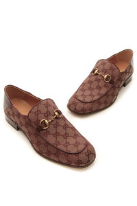 Gucci Quentin Men's Loafers - Burgundy US Size 8