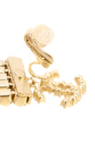 Chanel Paris-Egypt CC Strass Drop Clip-On Earrings - Gold