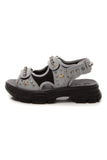 Gucci Aguru Men's Sandals - Gray US Size 7