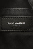 Saint Laurent Lou Logo Crossbody Bag - Black