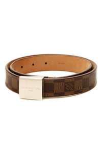Louis Vuitton Narrow Belt - Damier Ebene Size 32