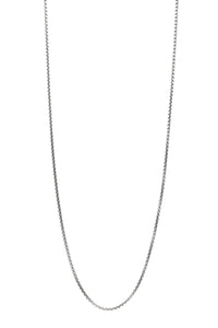 David Yurman 2.7mm Small Box Chain Necklace - Silver