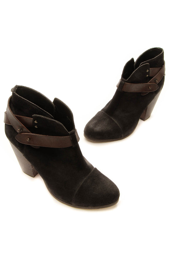 Rag and Bone Harrow Booties - Black Size 38