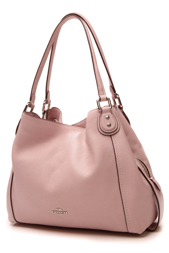 Coach Hallie Shoulder Bag - Pink
