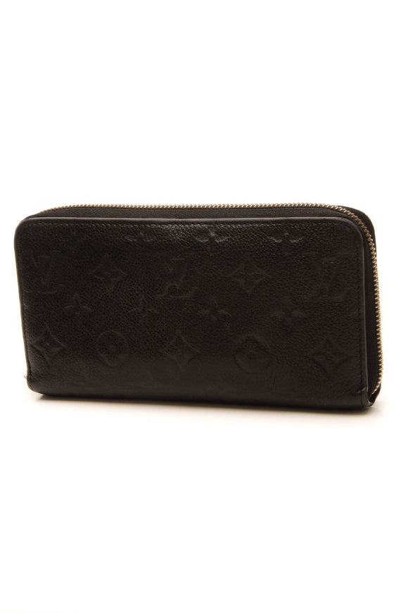 Louis Vuitton Empreinte Zippy Wallet - Noir