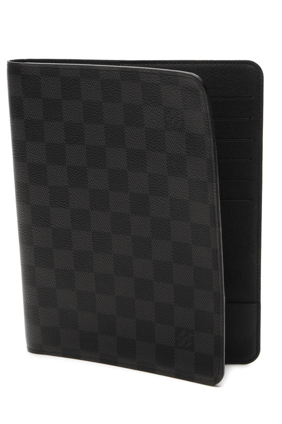 Louis Vuitton Notebook Cover - Damier Graphite