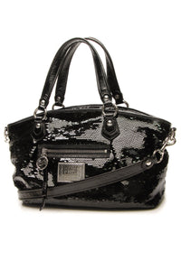 Coach Poppy Sequin Bag - Black