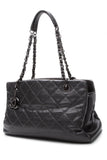 Chanel Iridescent Chic Small Tote Bag - Gunmetal