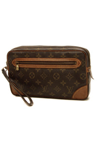 Louis Vuitton Vintage Marly Dragonne GM Clutch Bag- Monogram