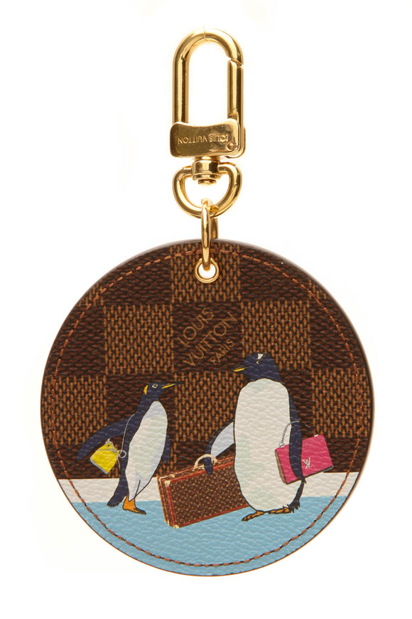 Louis Vuitton Illustre Manchot Bag Charm - Damier Ebene