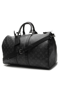 Louis Vuitton Keepall Bandouliere 45 Travel Bag - Monogram Eclipse