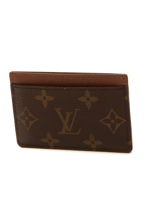 Louis Vuitton Card Holder - Monogram/Armagnac