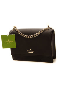 Kate Spade Chain Crossbody Bag - Black