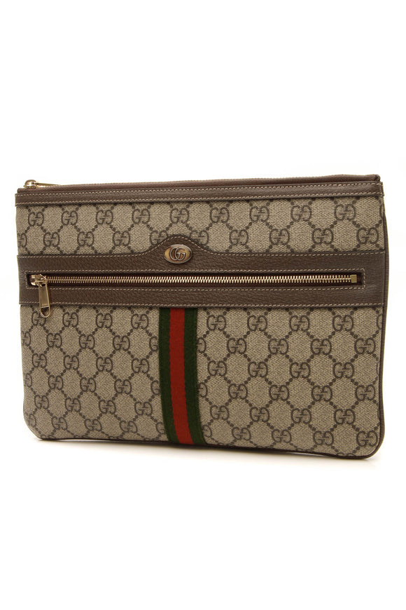 Gucci Ophidia Pouch - Supreme Canvas