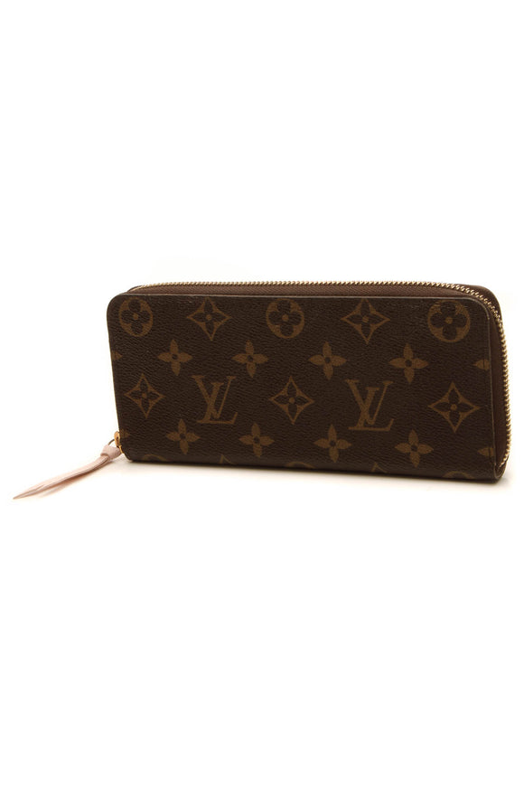Louis Vuitton Clemence Wallet - Monogram/Rose Ballerine