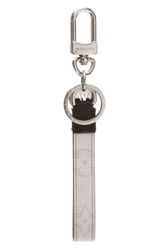 Louis Vuitton Slim Dragonne Bag Charm/Key Holder - White Monogram