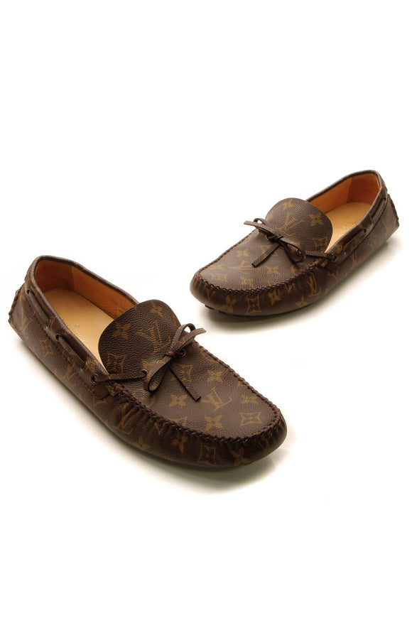 Louis Vuitton Arizona Moccasin Men's Loafers - Monogram US Size 11.5