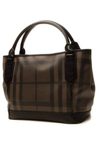 Burberry Tote Bag Smoked Check