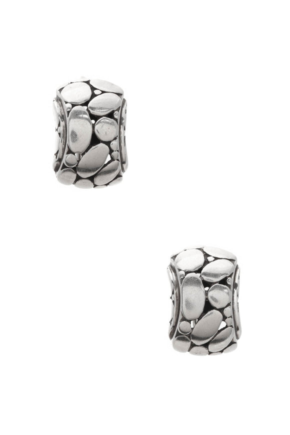 John Hardy Kali Hi-Way Earrings - Silver