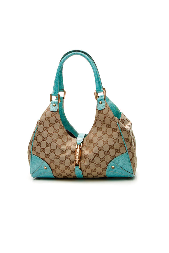 Gucci Bardot Bag - Signature Canvas