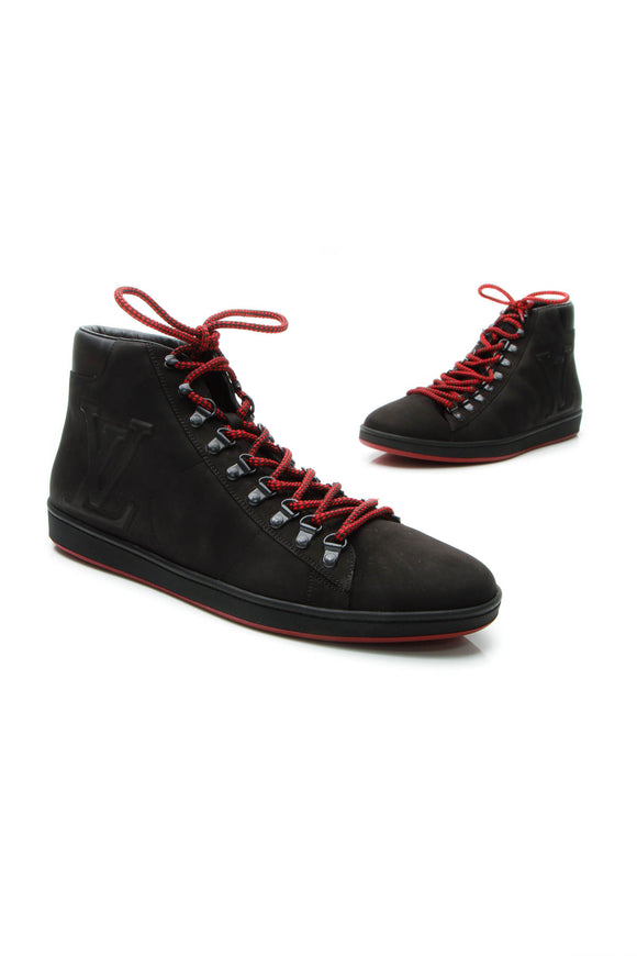 Louis Vuitton Offshore Sneaker Men's Boots - Black US Size 13