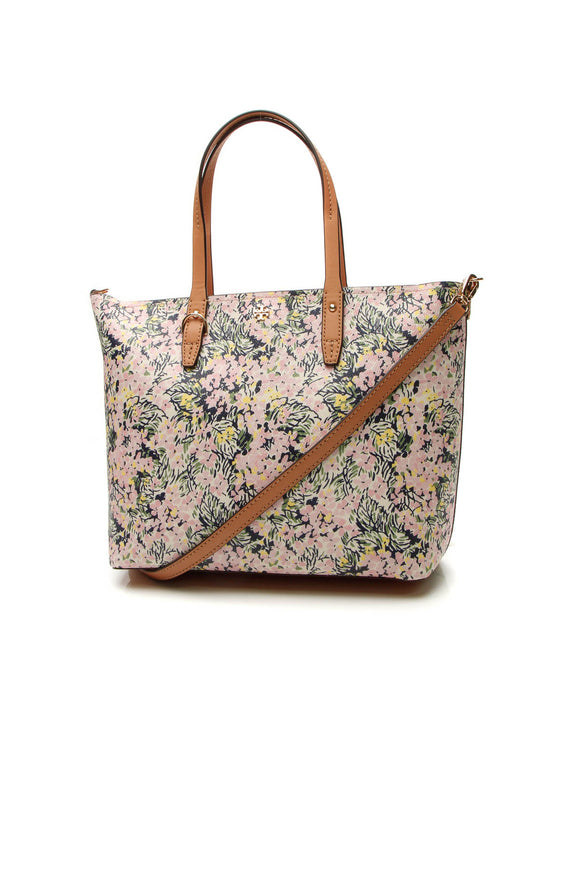 Tory Burch Kerrington Floral Tote Bag - Multicolor